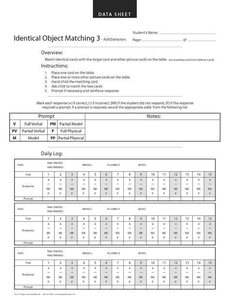 aba program template free aba data keeping sheets