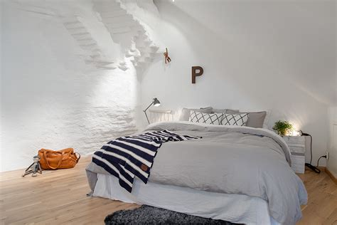 nordic style bedroom cozy apartment decorated in pure modern scandinavian style