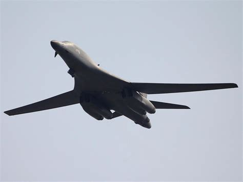 New Bomber1 us plans b 1 bomber strike on korea missile kaniva tonga largest new