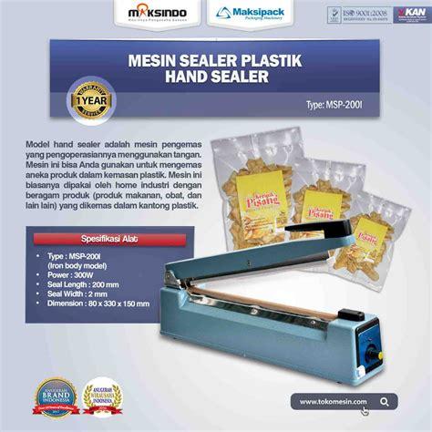 Mesin Sealer mesin sealer msp 200i toko mesin maksindo surabaya