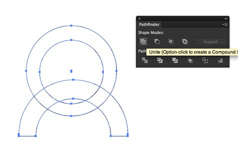 illustrator tutorial merge shapes how to merging separate paths in illustrator graphic
