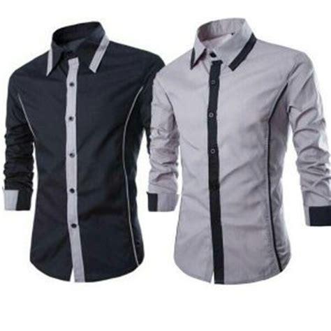 Baju Kemeja Batik Pria Slim Fit Modern Lengan Pendek Ob 369 kemeja batik modern baju batik pria wanita terbaru newhairstylesformen2014