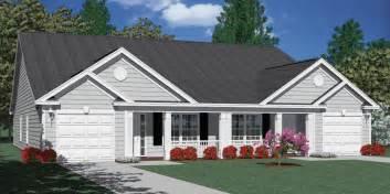 duplex with garage plans southern heritage home designs duplex plan 1392 b