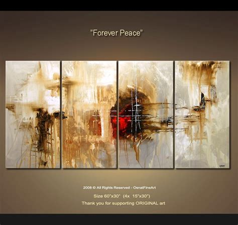 abstract painting abstract painting multi panel 4142