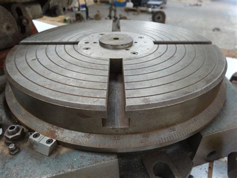 a rotary table rotary table 1 1st machinery