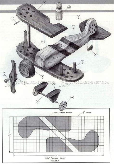 wooden biplane plans woodarchivist