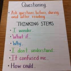 Ask And Answer Questions Anchor Chart » Home Design 2017
