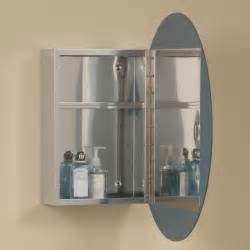 Bathroom Medicine Cabinet With Mirror Ellipse Stainless Steel Medicine Cabinet With Oval Mirror Medicine Cabinets Bathroom