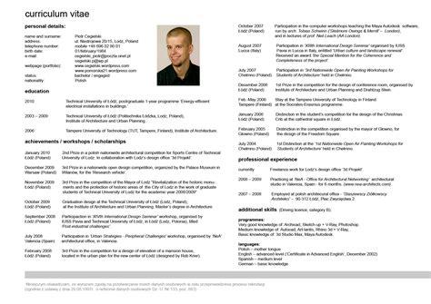 membuat cv beasiswa contoh cv bahasa inggris beasiswa contoh oren