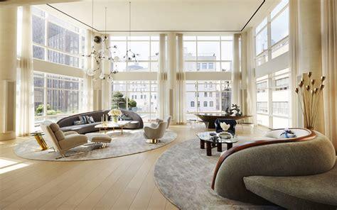 Amy Lau Interior Design Telecom Mogul Michael Hirtenstein S Combines Three