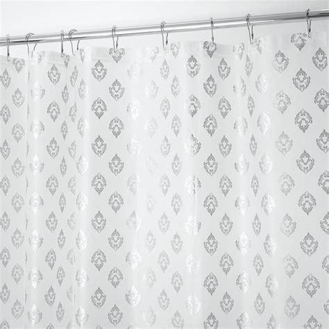 decorative shower curtains decorative embossed shower curtain only 7 99