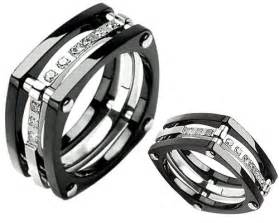 Nice Titanium Mens Wedding Band #3: 51RgmYKPC5L.jpg