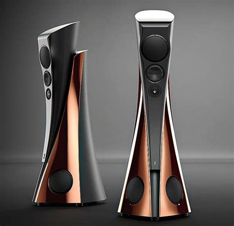 designer speakers fashionably functional estelon speaker sound vision