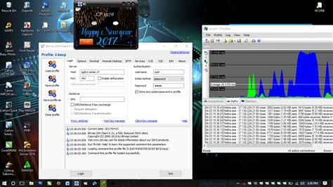 tutorial internet gratis ssh di pc internet gratis di leptop pc menggunakan ssh bajank
