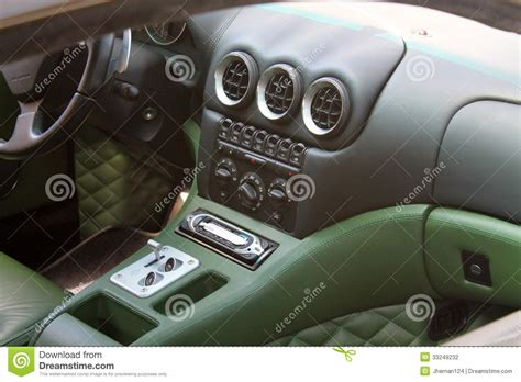 Classic Car With Modern Interior by Modern Sports Car Interior Editorial Photography Image 33249232