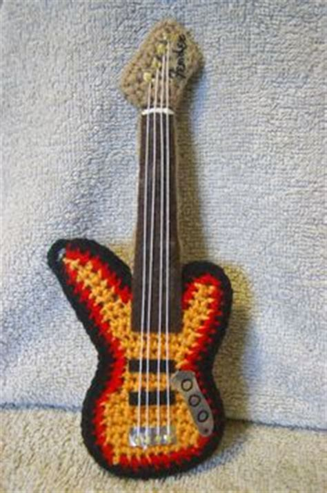 amigurumi guitar pattern 1000 images about amigurumi strumenti musicali on