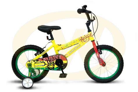 Sepeda Anak Bmx Wim Cycle 12 Regae jual wimcycle reggae bmx sepeda anak yellow 16 inch harga kualitas terjamin