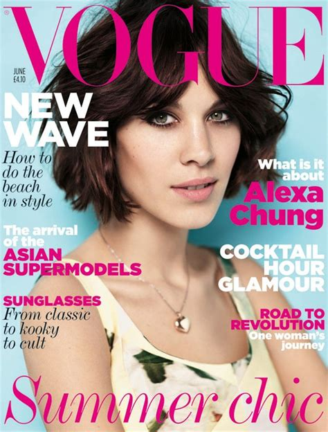 Covers Uk chung for vogue uk june 2011 art8amby s