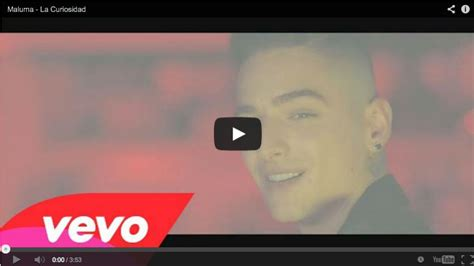 video de maluma maluma presenta el video de su canci 243 n la curiosidad