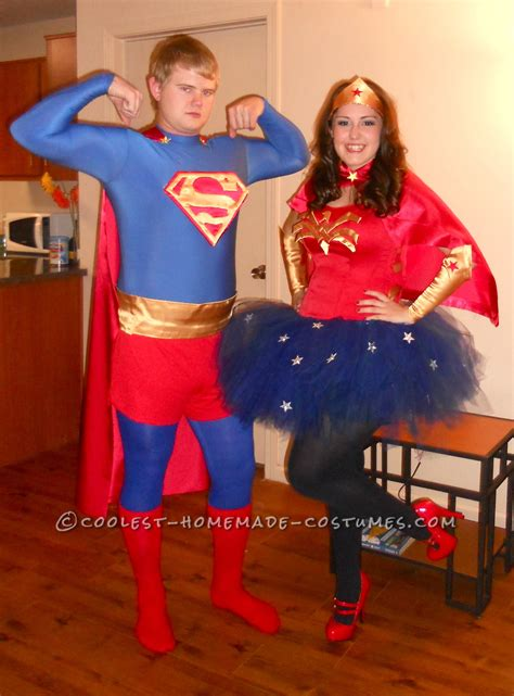 coolest homemade superman   woman couples