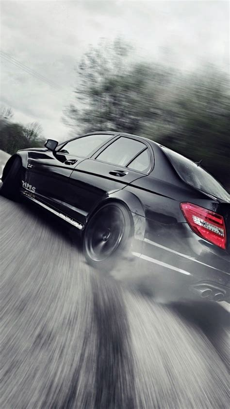 wallpaper for iphone mercedes mercedes benz drift the iphone wallpapers