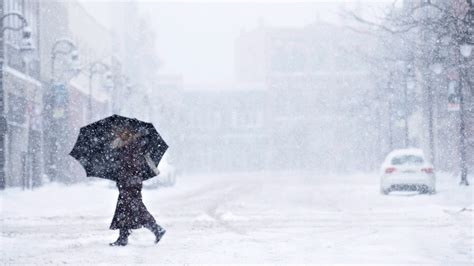 Winter storm settles into southern ontario stretches from