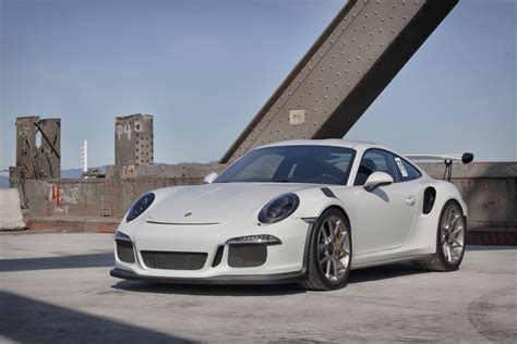 porsche white gt3 white 2016 porsche 911 gt3 rs poses with hre wheels gtspirit
