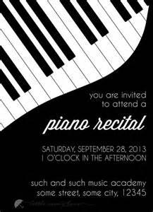 piano recital program template sle piano recital program images