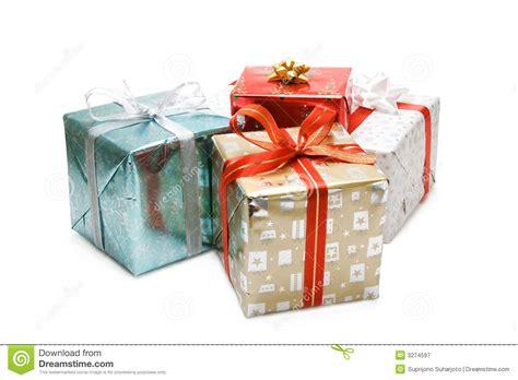 christmas gifts stock image image of festive lights