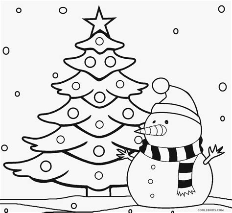 christmas tree and presents coloring page printable christmas tree coloring pages for kids cool2bkids