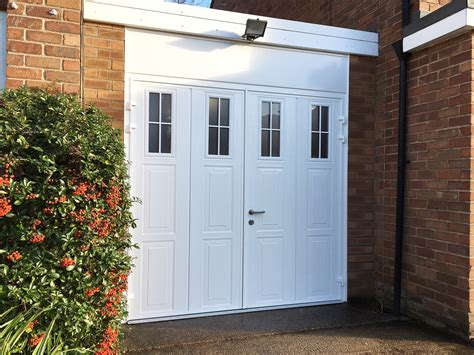 Hinged Garage Doors Carteck Side Hinged Garage Door Pennine Garage Doors