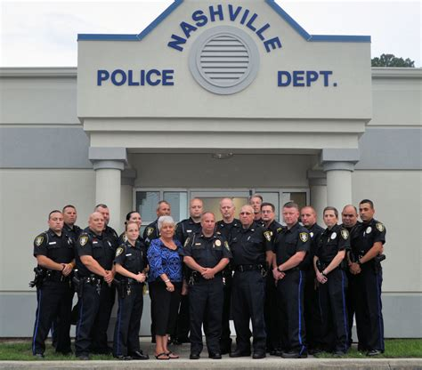 Nashville Arrest Records General Info Town Of Nashville Nc Nash County Carolina