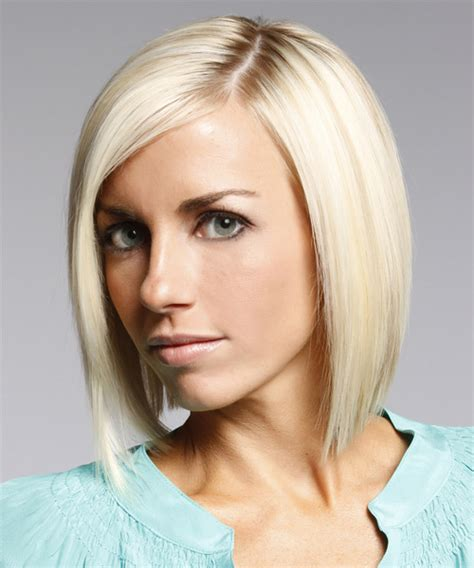 midlength jagged blunt cuts jagged blunt cut medium bobs black hairstyle and haircuts