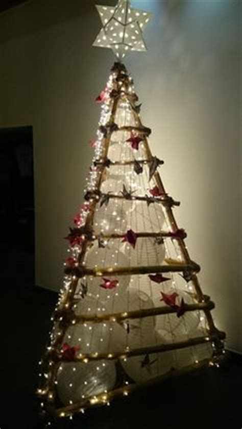 bamboo christmas tree michelle s crafts pinterest