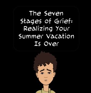 The Stages Of Grief Vacation Edition by No More Teachers Looks 92 By Jim Pseudonym