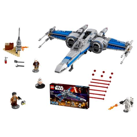 Lego Wars 75149 Resistance X Wing Fighter No Minifigures Box primeras fotos lego wars 75149 resistance x wing