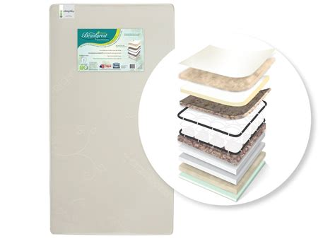 Simmons Beautyrest Crib Mattress Simmons Beautyrest Beginnings 174 Supreme Crib Toddler Mattress Delta Children S Products