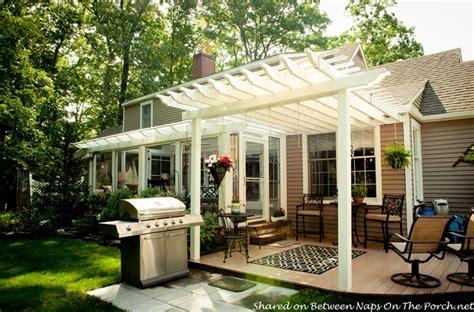 An Ordinary Patio Becomes A Beautiful Three Season Porch