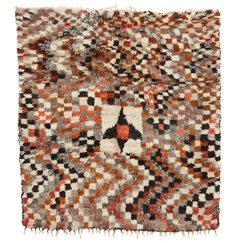 checkerboard rugs abstract checkerboard berber rug for sale at 1stdibs