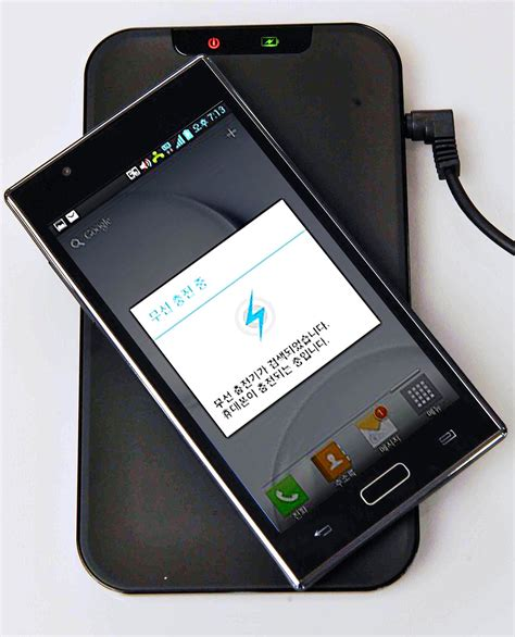 inductive phone charger wireless power transfer