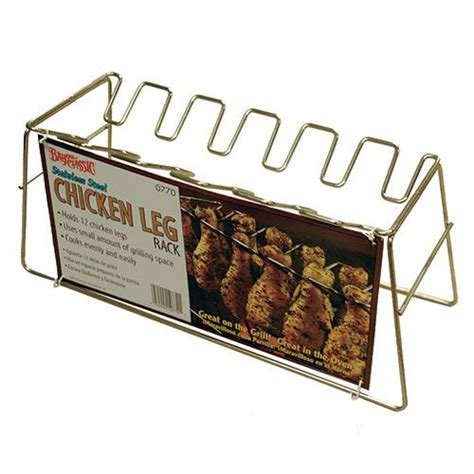 Chicken Rack by Stainless Steel Chicken Leg Rack