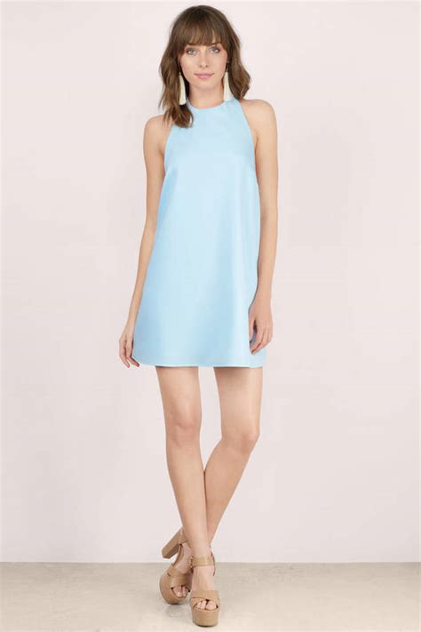 light blue shift dress light blue shift dress backless dress light blue dress