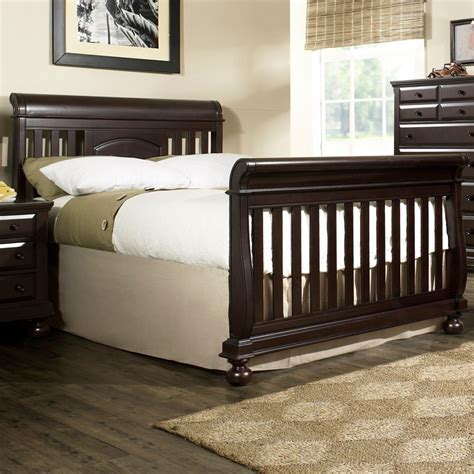 convertible sleigh bed crib sleigh bed crib convertible child craft coventry