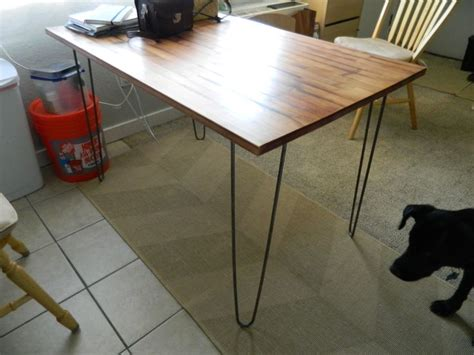 diy dining table ikea legs after hairpin leg dining table furniture