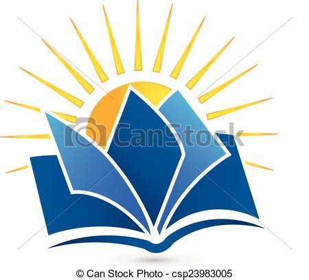 libro the sign of the logotipo libro sol sol vector libro icono logotipo clipart vectorial buscar im 225 genes de