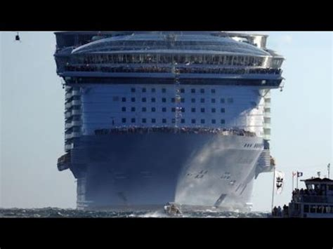how long is the biggest boat in the world world s biggest best cruise ship boat ever constructed