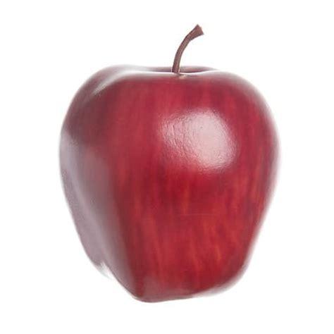 decorative fake apples darice fake decorative fruit artificial red delicious apple 3 quot