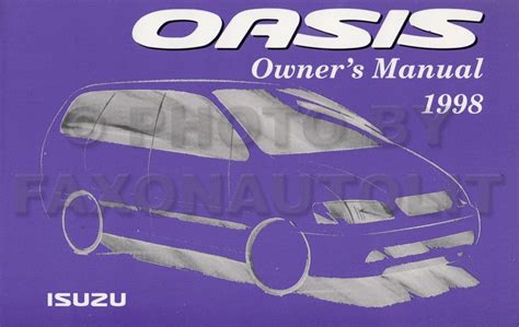 how to download repair manuals 1998 isuzu hombre space electronic throttle control repair manual 1998 isuzu oasis 1996 96 isuzu oasis vo factory service repair manual set