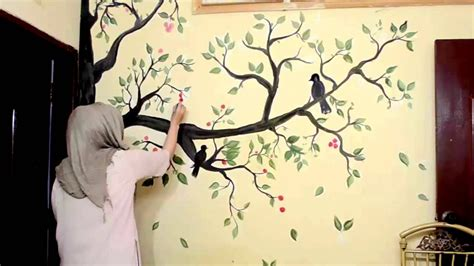 Baum Malen Wand by Tree Wall Painting