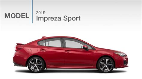 2019 Subaru Impreza Sport by 2019 Subaru Impreza Sport Model Review